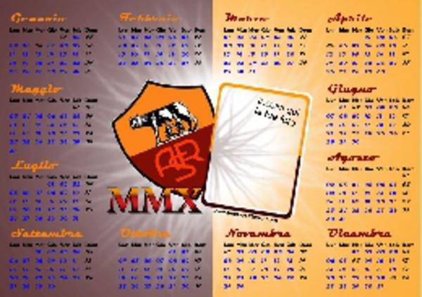 As Roma Calendario.Il Calendario 2010 Della Roma Laroma24 It Tutte Le News