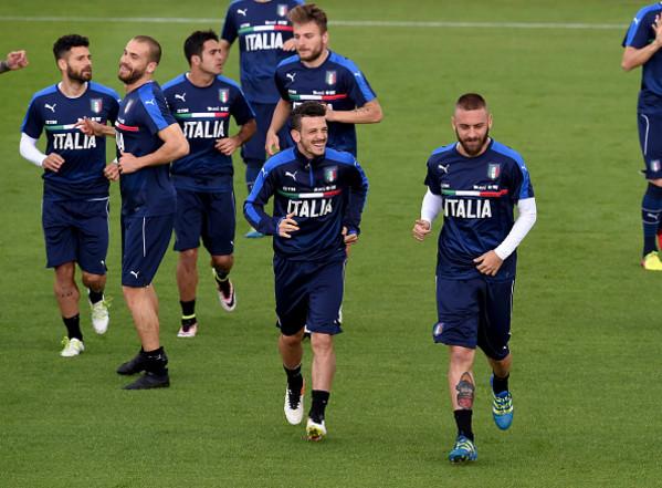 Nazionale, Conte prova De Rossi e Florenzi dal 1' nell'amichevole ...