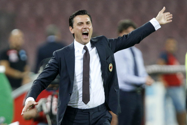 Milan-Torino, Montella vuole la Coppa Italia