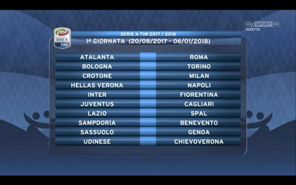 As Roma Calendario.Serie A Sorteggiato Il Calendario La Roma Debutta A