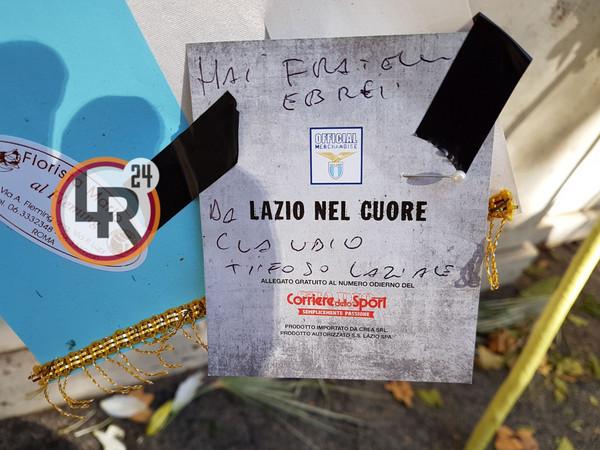 Lazio, che gaffe sulla corona in Sinagoga: