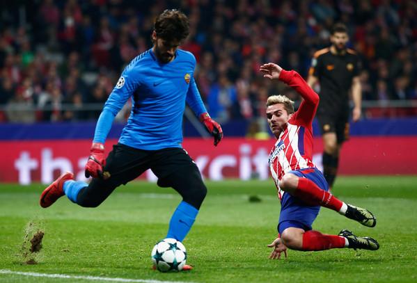 Allenamento calcio Atlético de Madrid portiere