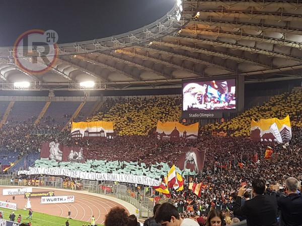 Foto Derby La Coreografia Della Curva Sud Si Chiama Roma La