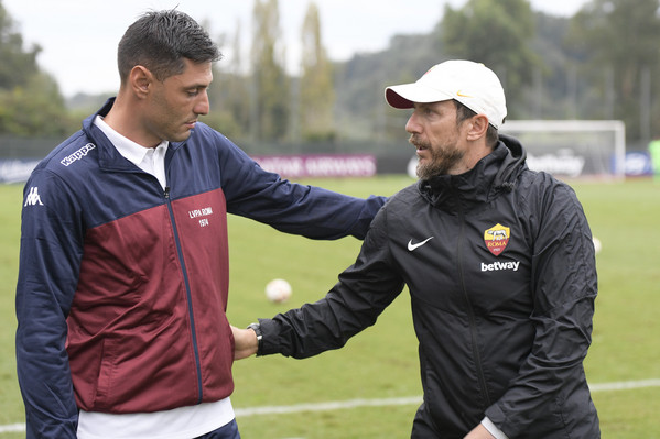 as-roma-vs-lupa-roma-partita-amichevole