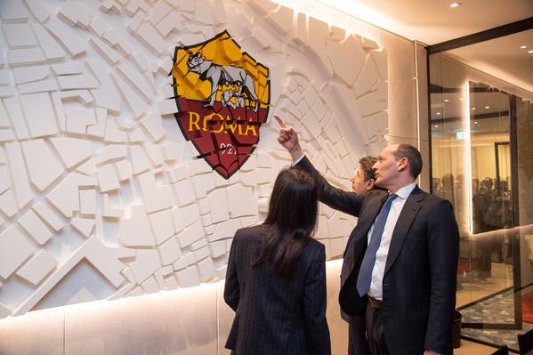 Roma l 39 inaugurazione dei nuovi uffici all 39 eur baldissoni for Centro uffici roma