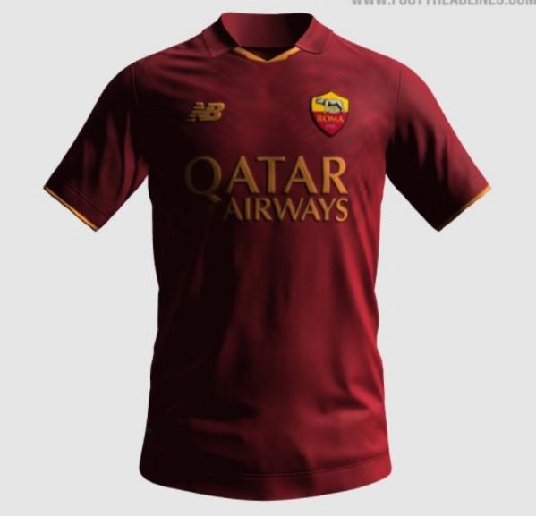 FOTO - As Roma: prime indiscrezioni sulla maglia New Balance per ...